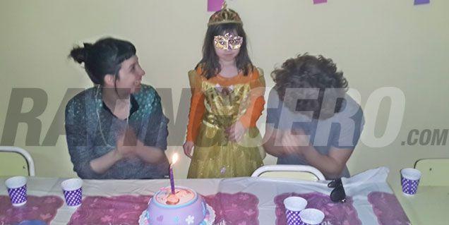 Helena, la nieta de Moria, cumplió años y hubo festejo familiar en el Jardín