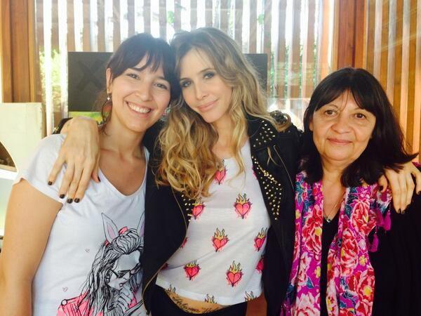 La primera producción de Guillermina Valdes embarazada de tres meses