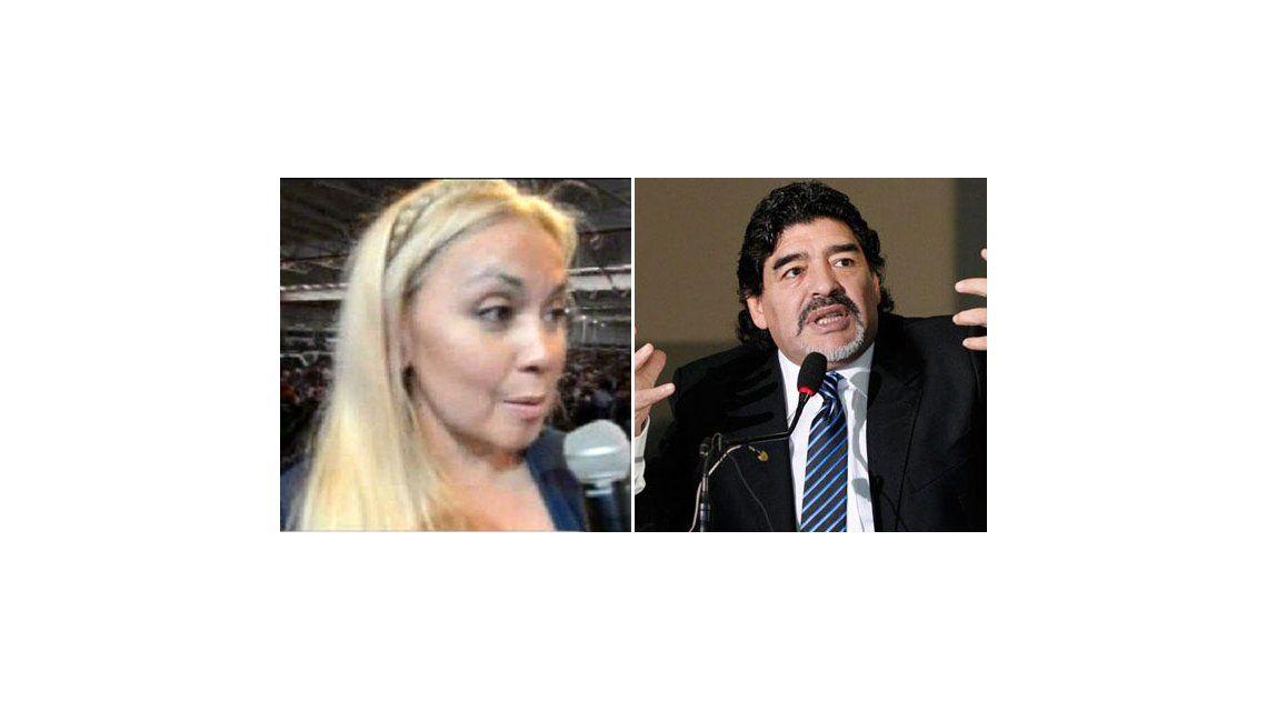 Verónica Ojeda, nuevo look y bajo perfil: Con Diego estamos muy bien