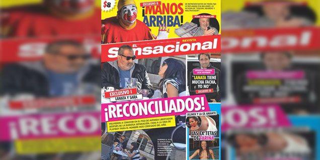Aseguran que Jorge Lanata y su mujer Sara están reconciliados