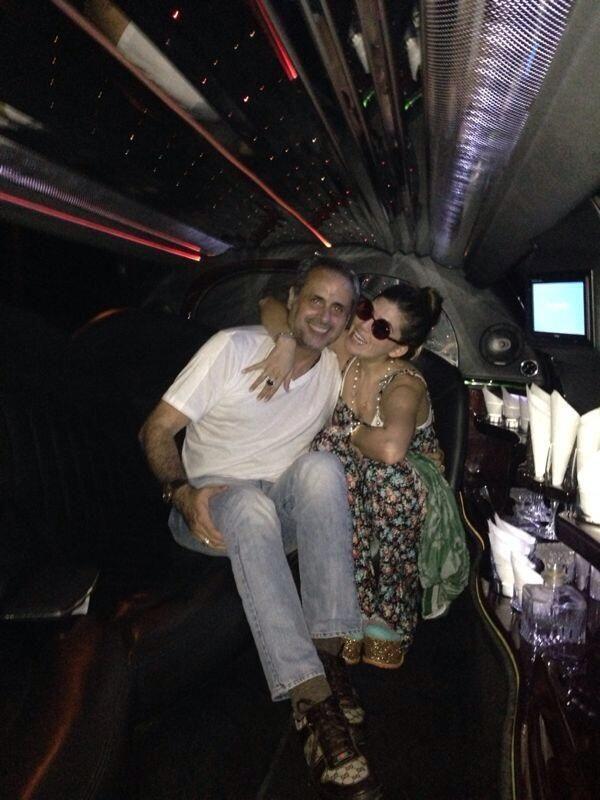 Jorge Rial y Mariana Antoniale, de vacaciones en Dubai