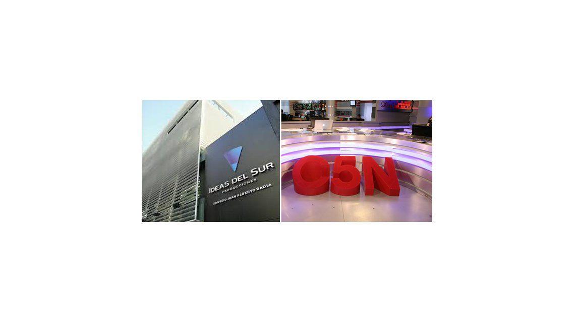 Ideas del Sur prepara la mudanza de C5N y de todas las radios del grupo Indalo