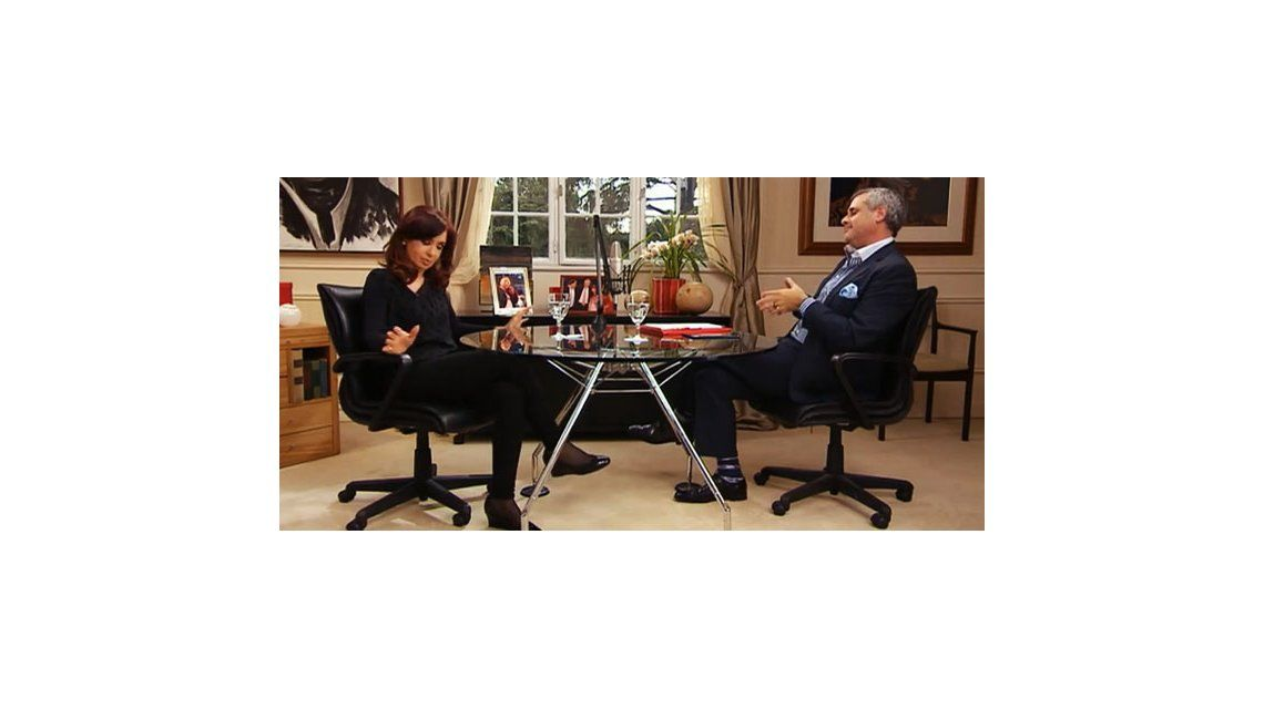 Emitieron la segunda parte de la entrevista de Jorge Rial a Cristina Kirchner