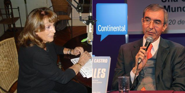 Magadalena Ruiz Guiñazú: Nelson Castro me está velando al aire todos los días