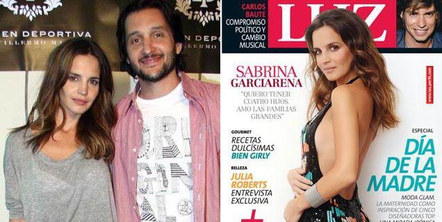 La primera foto de Sabrina Garciarena embarazada: Quiero tener cuatro hijos