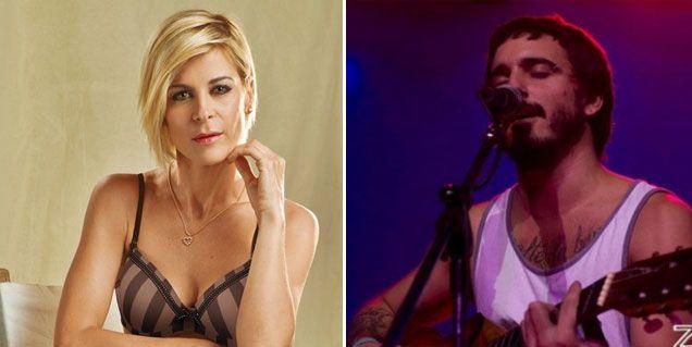 Una novia fanática: Eugenia Tobal apoya a su novio en su carrera musical