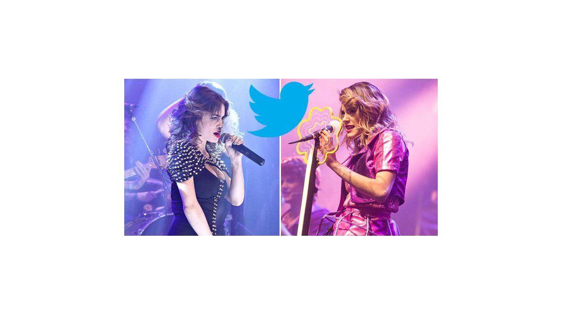 Guerra tuitera entre los fanáticos de Lali Espósito y Martina Violetta Stoessel