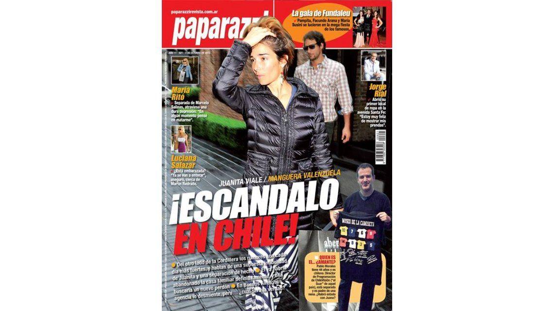 Juanita y Gonzalo Valenzuela son tapa: escándalo por rumores de infidelidad