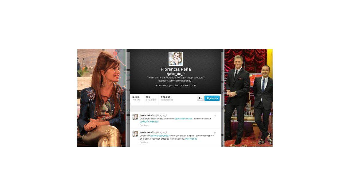 Florencia Peña, furiosa con los críticos malditos de La jaula de la moda