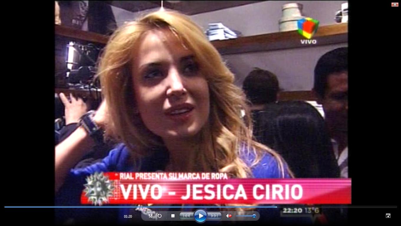 Jesica Cirio: No estamos haciendo campaña política con nuestra relación