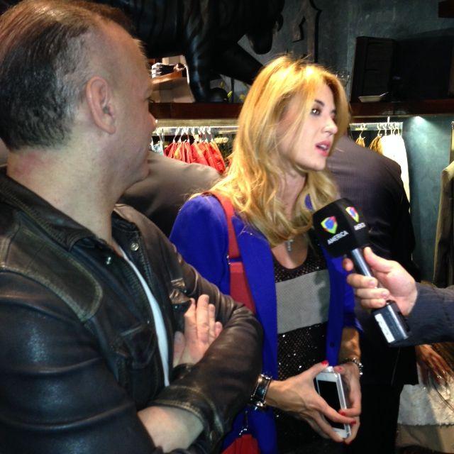 Jorge Rial inauguró su local de ropa con famosos, empresarios y políticos