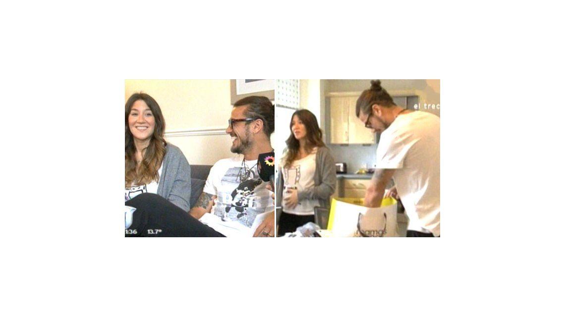 Pese a los rumores, aparecen imágenes de Jimena Barón y Daniel Osvaldo embarazados