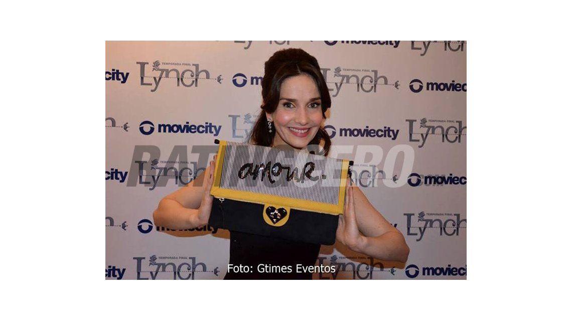 Natalia Oreiro, en la presentación de Lynch, la temporada final