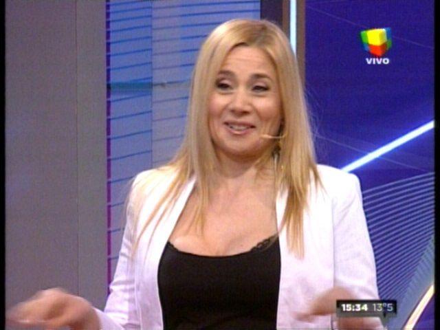 Volvió Andrea Politti: Antes que desmayarme en cámara lo bueno es parar