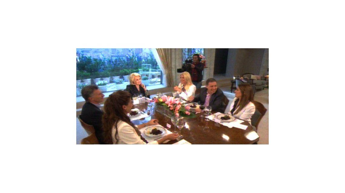 Mirtha: gastadas a Doman, Macri y el discurso anacrónico de Valeria Mazza