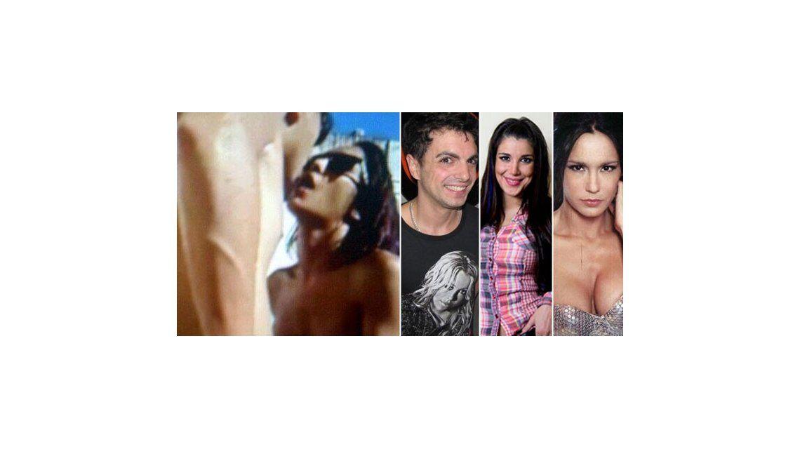 Nuevo video porno con famosos: el líder de Miranda! Ale Sergi y su ex en una pileta