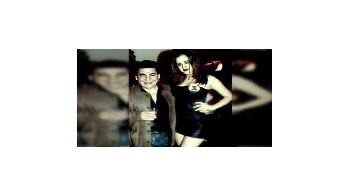 La joven novia de Cacho Rubio apareció en un desfile de modas en TV