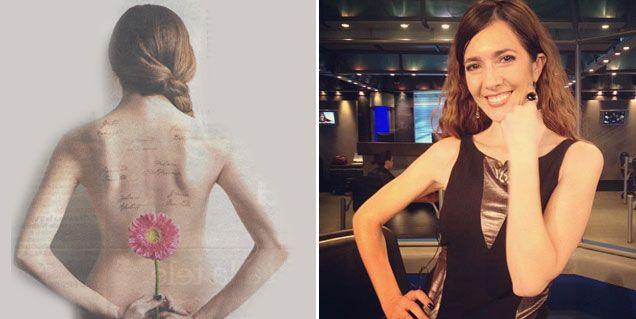 El desnudo de Cristina Pérez