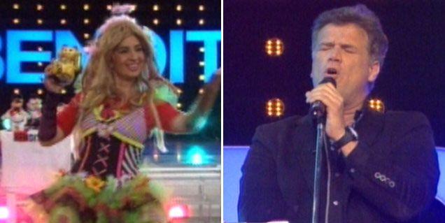 Teto Medina y Edith Hermida mostraron su (no) talento en el mundo de la canción