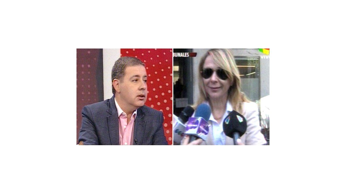 Doman, después de la audiencia con Evelyn: Hoy Carolina Nuin es mi novia