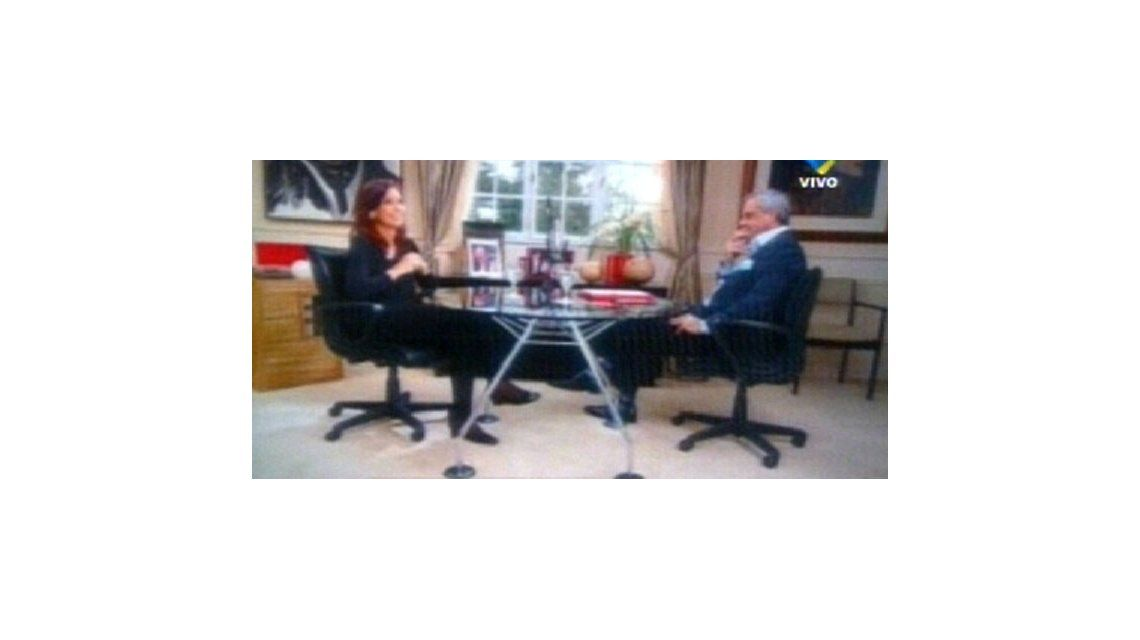 Este domingo se verá la segunda parte de la entrevista de Rial a CFK