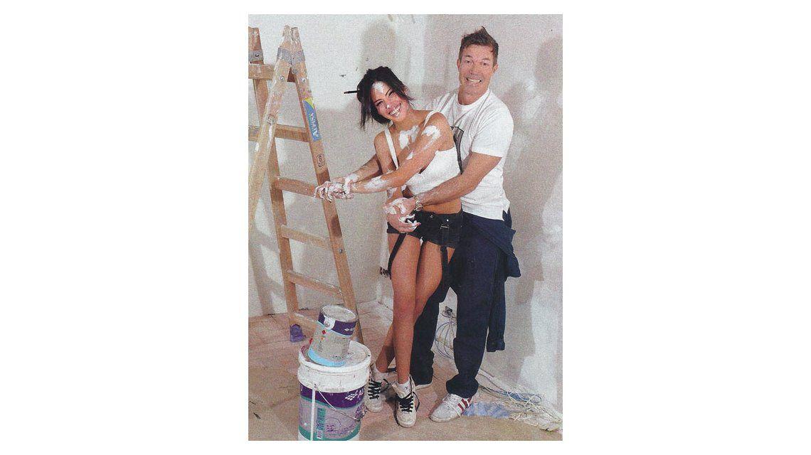 Burlando y su novia Barbi Franco anticipan el Bailando 2015: Todo esto tiene mucho de locura y estamos practicando