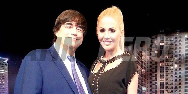 Jaime Bayly y Barbie Simons: encuentro en Miami