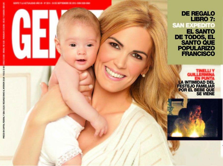 Viviana Canosa, en la tapa de Gente: Me gustaría que el Papa bendiga a mi beba