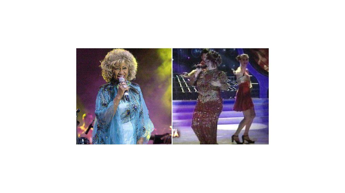 Tu cara me suena: la increíble imitación de Carmen Barbieri sobre Celia Cruz