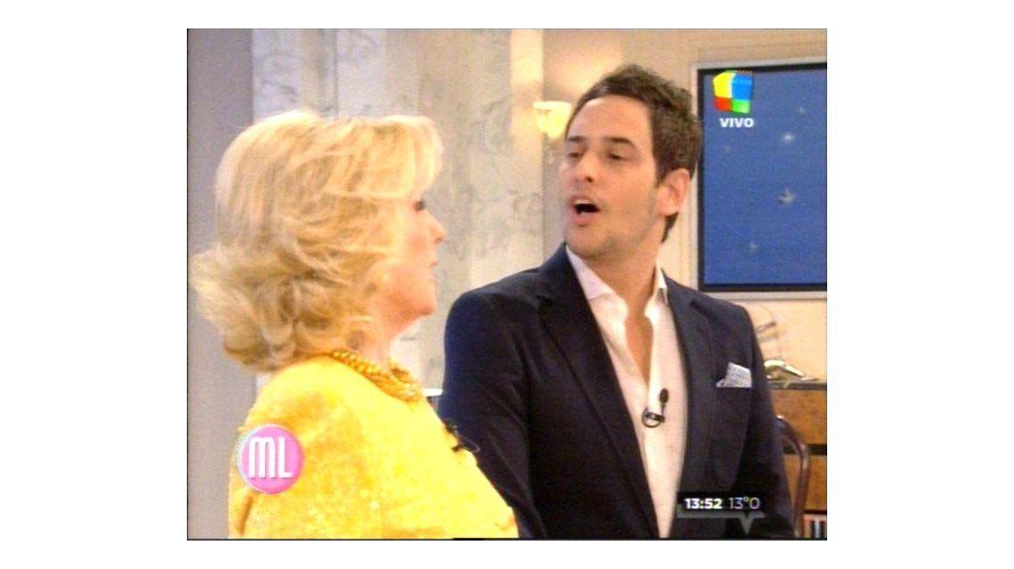 Lussich consiguió la frase más buscada de Mirtha: No voy a pasar a Canal 13