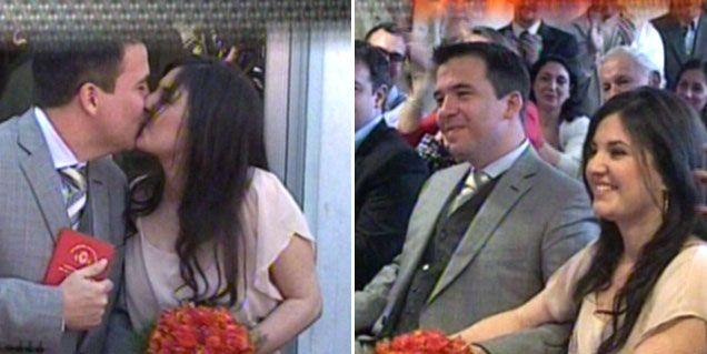 Gastón Recondo dio el sí por segunda vez y se casó con Valeria Marcovecchio