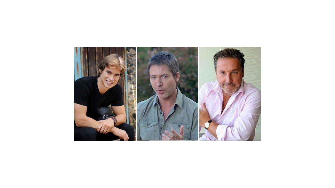 Adrián Suar, Ricardo Montaner y Carlos Baute, al ritmo de Solamente vos