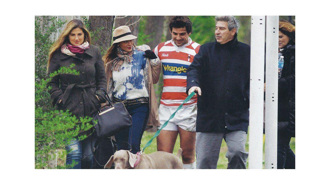 Fan: Sol Estevanez acompañó a Avramovic en su vuelta al rugby argentino