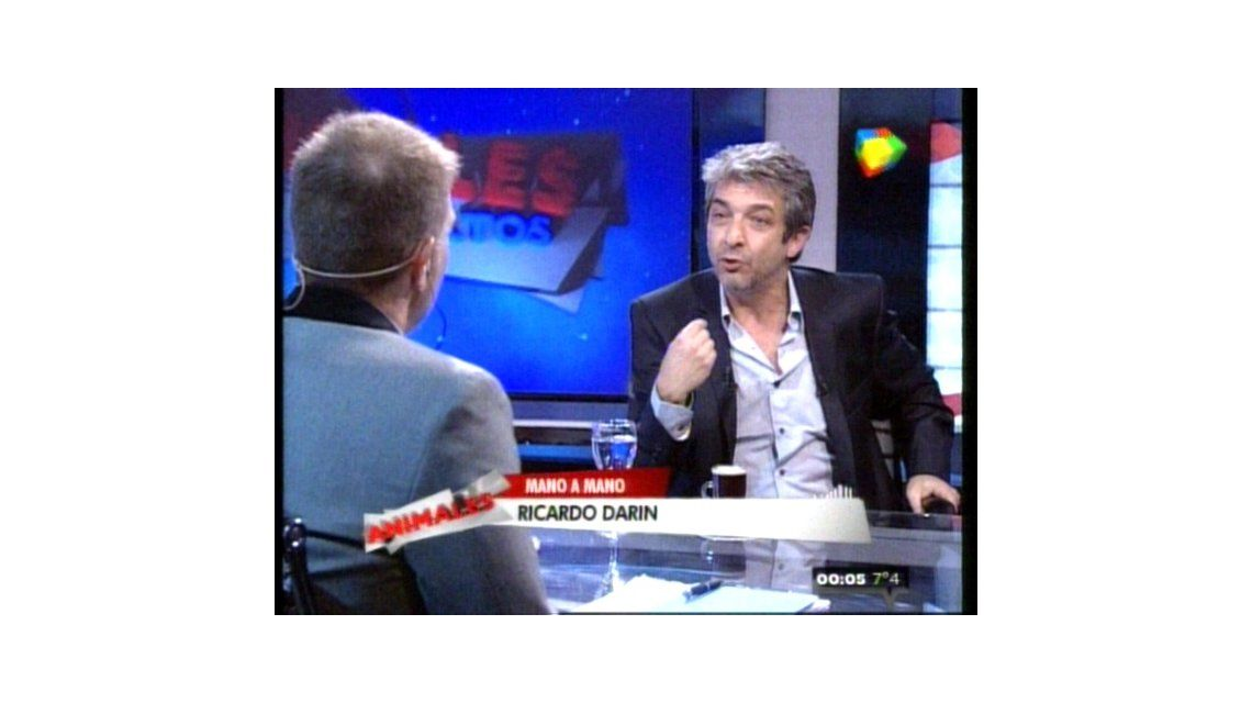 Ricardo Darín, íntimo, junto a Alejandro Fantino: Creo que podría ser mejor director que actor