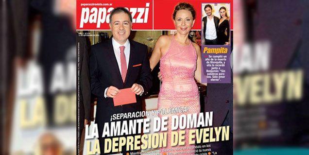 La tapa de Paparazzi: La amante de Doman, la depresión de Evelyn