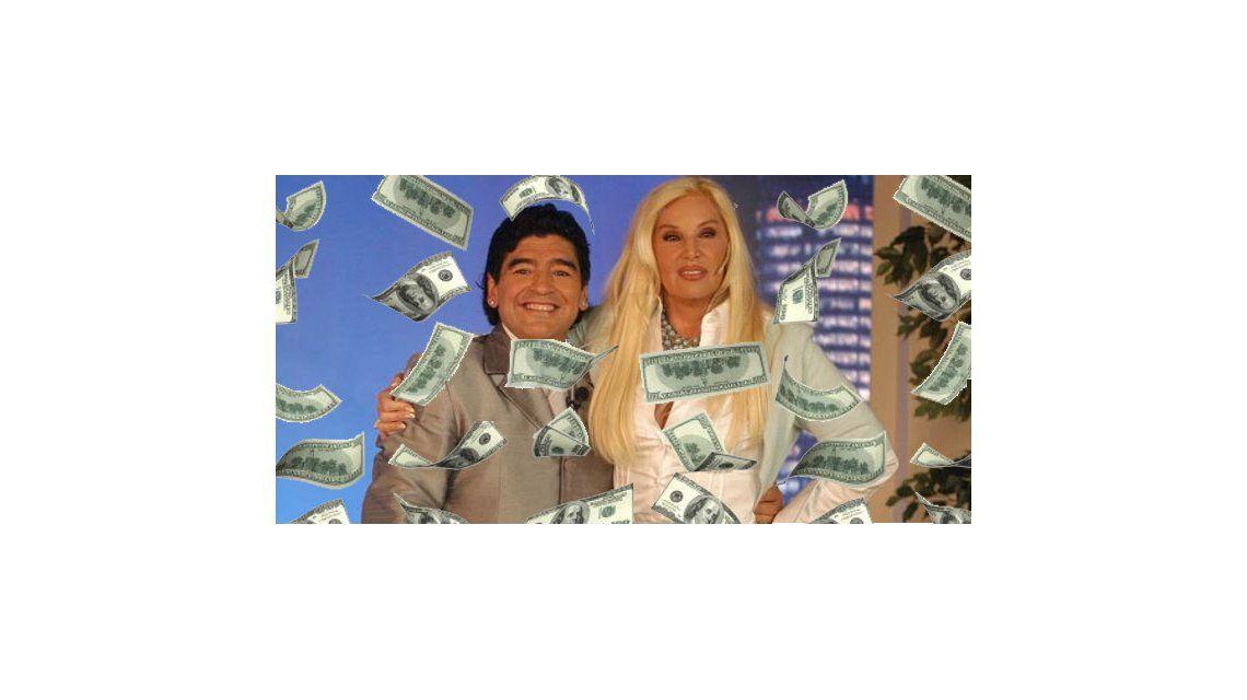 Después del escándalo, Maradona podría estar en lo de Susana el lunes... ¡y gratis!