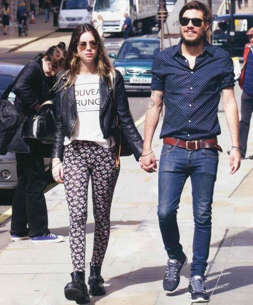 La nieta de Susana se lanza como diseñadora y viajó a Londres con su novio
