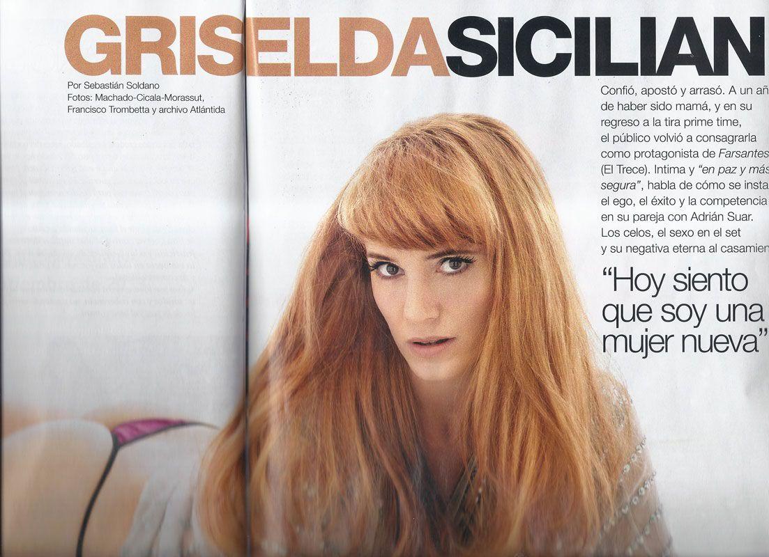El destape de Griselda Siciliani, a un año de dar a luz a Margarita, su hija con Suar