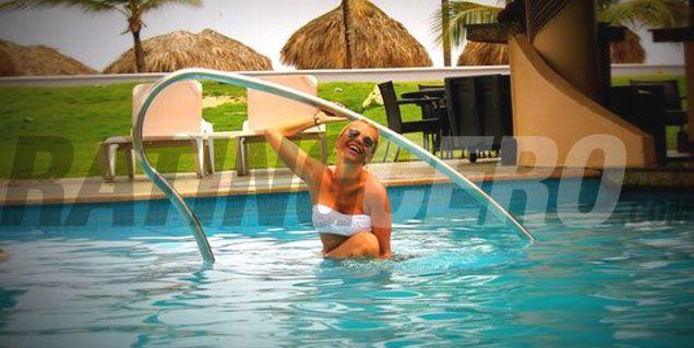 Las vacaciones de Nazarena en Punta Cana