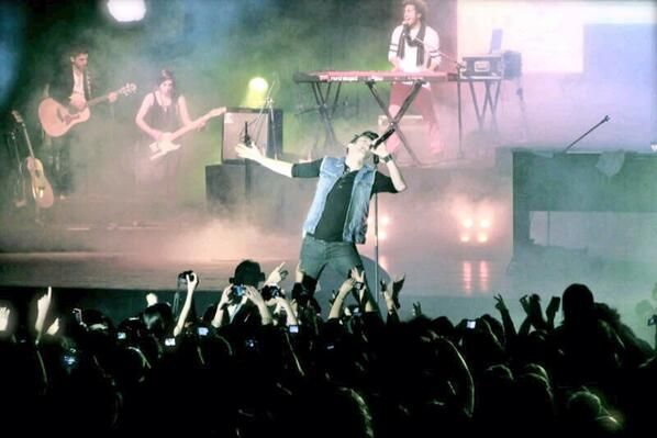 La insólita amenaza que recibió Axel antes de dar un concierto en Esquel
