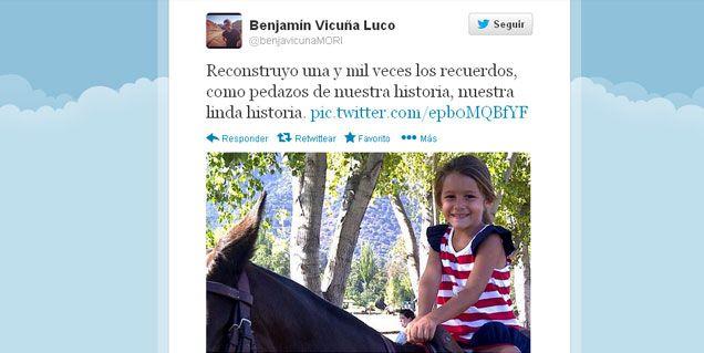 El recuerdo de Vicuña a Blanquita: Reconstruyo nuestra linda historia