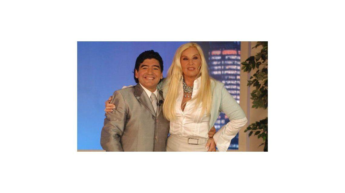 Telefe anuncia la visita de Diego Maradona el próximo lunes al living de Susana