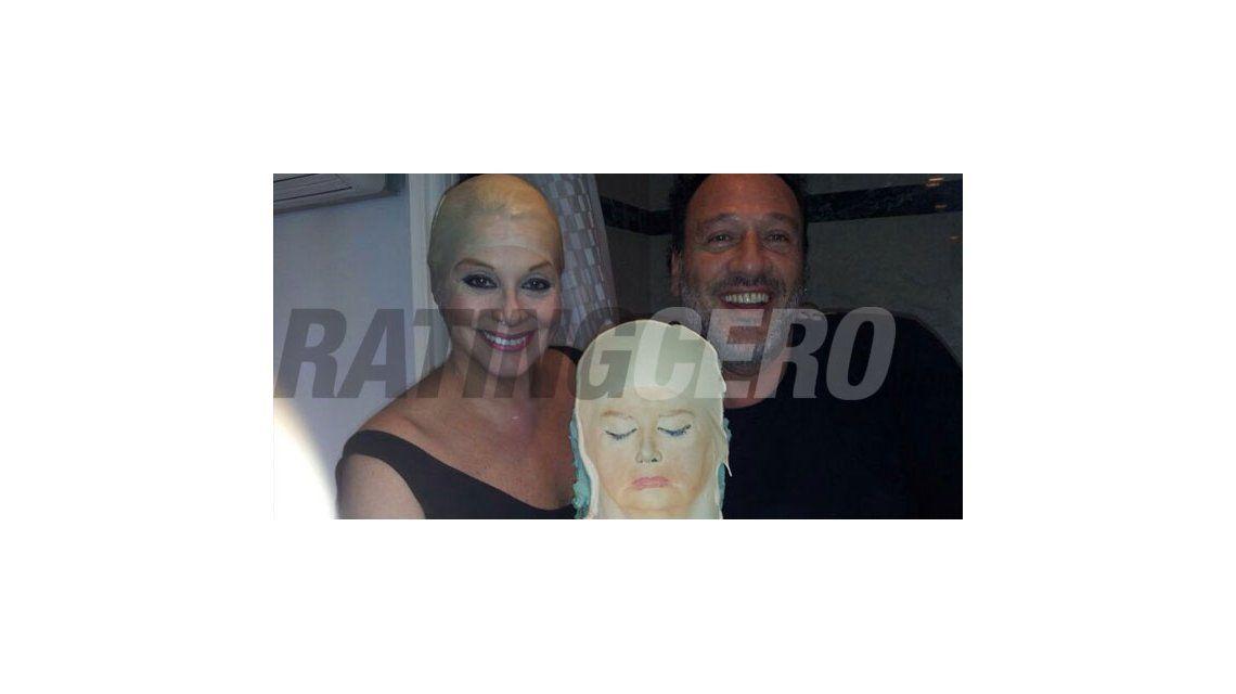 La máscara de Carmen Barbieri para Tu cara me suena; ya ensaya