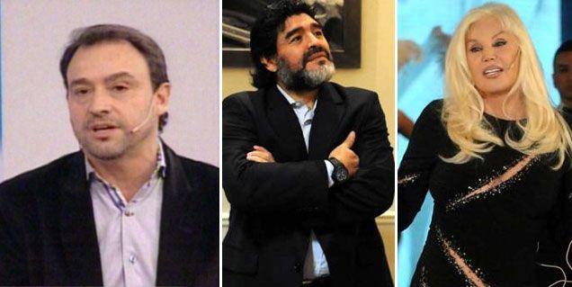 Maradona se amigó con Susana Giménez y negocian su visita al living de la diva