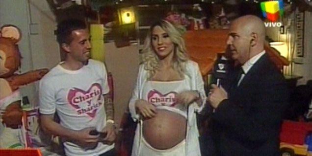 El baby shower hot de Cinthia Fernández y Matías Defederico