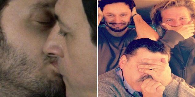 Las internas de Farsantes: detrás del beso y de esta foto hay mucho para contar