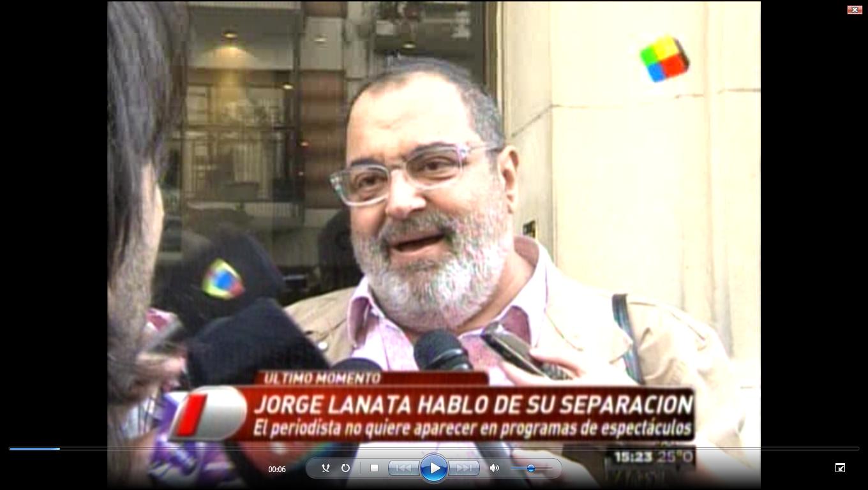 Jorge Lanata: Mi separación no es noticia