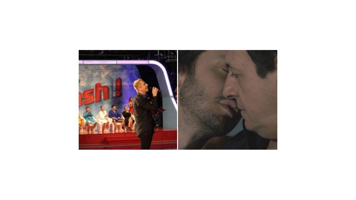 Lunes caliente: el beso de Chávez Vicuña va contra la final de Celebrity Splash