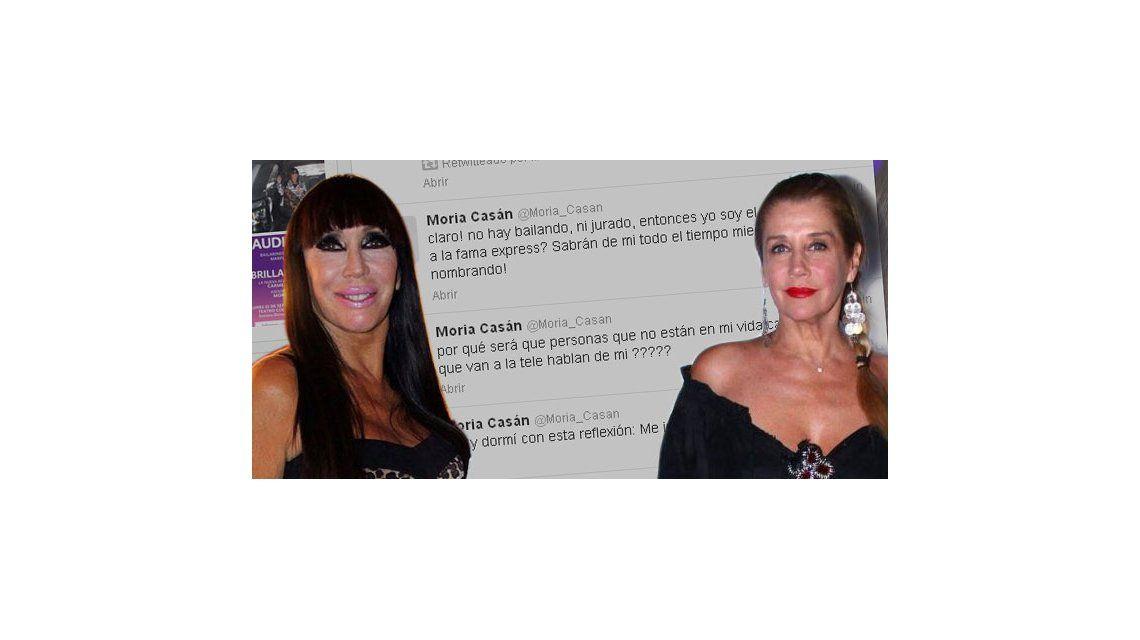 La furia twittera de Moria contra Marcela Tinayre por el juicio que quiere hacerle