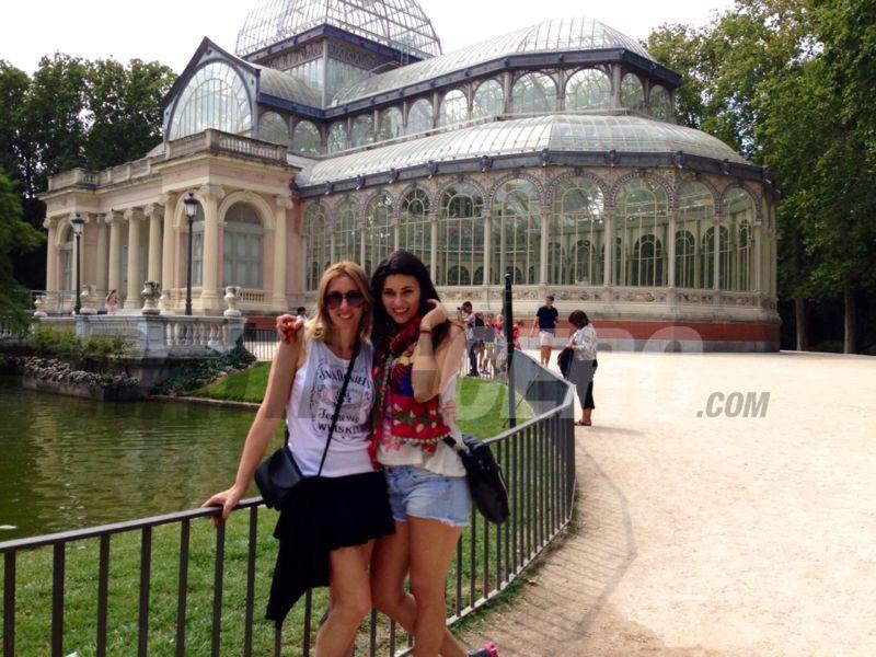 El álbum de las vacaciones de Verónica Perdomo en Europa